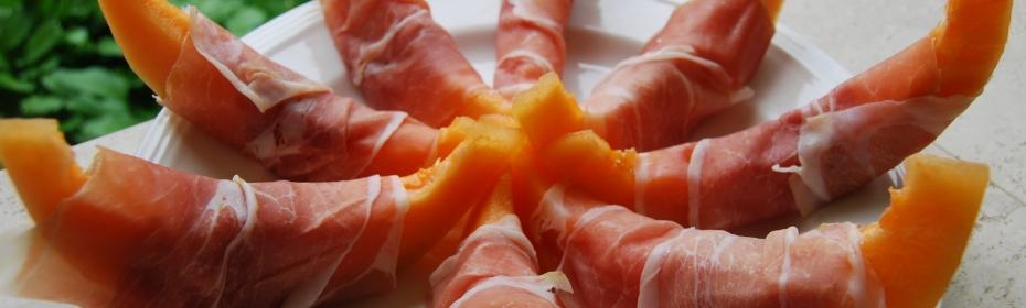 prosciutto e melone ristorante belle arti
